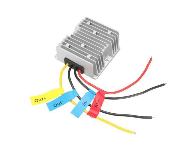 DC 48V to DC 24V 10A 240W Car Power Supply Module Converter Regulator  Waterproof - Newegg com