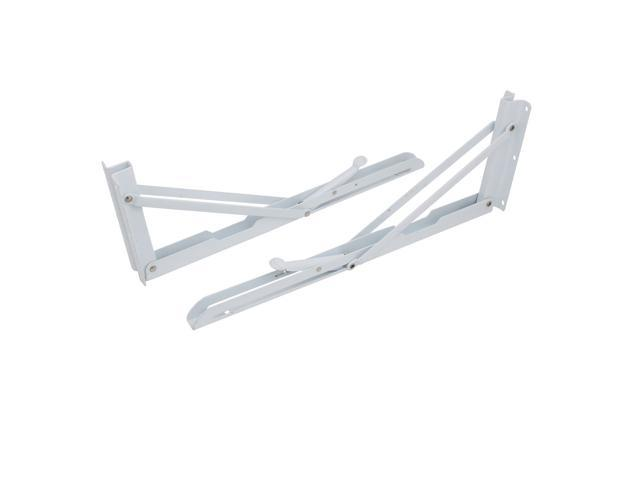 Suction Cup Base 19x13x15mm Glass Shelf Support Bracket Plate 40 Pcs w Screws
