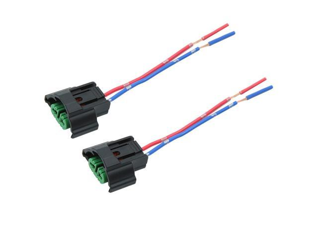 2pcs DC12V H8 H11 Wire Adapter Wiring Harness Sockets for Car Fog on