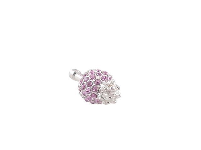 Unique Bargains Unique Bargains Pink Crystals 3 5mm Earphone Ear Cap Anti  Dust Plug - Newegg com
