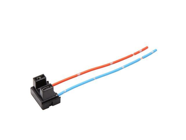 Dc 12v H7 Bulb Socket Wire Harness Connector For High And Low