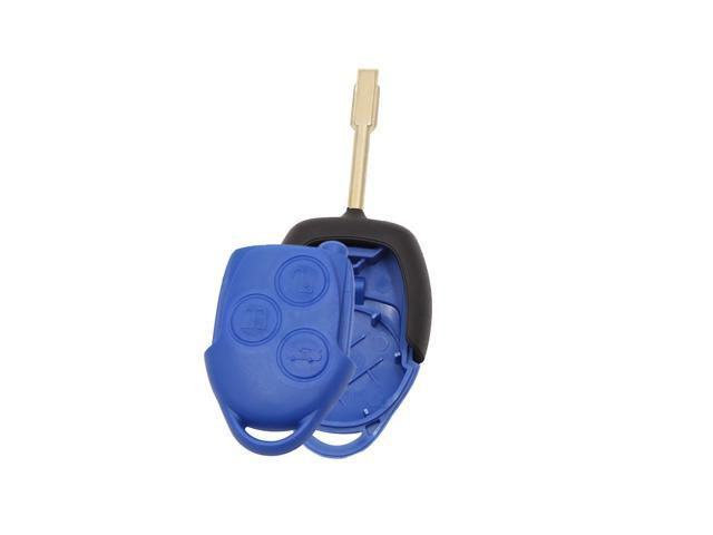 key blade Ford Transit Connect Replacement 3 Button Remote Key Fob Case Shell