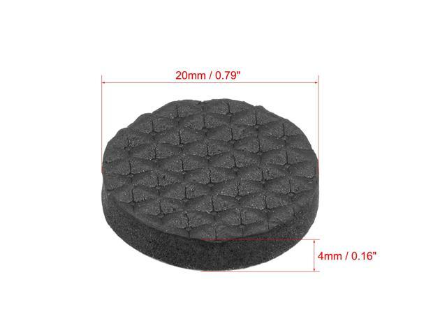 Table Chair Mini Rubber feet Self-adhesive 20mmx20mmx8mm 12 in 1 K5U4