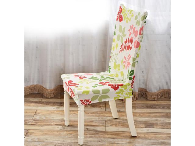 Amazing Removable Stretch Elastic Slipcovers Short Dining Room Chair Seat Covers Short Links Chair Design For Home Short Linksinfo