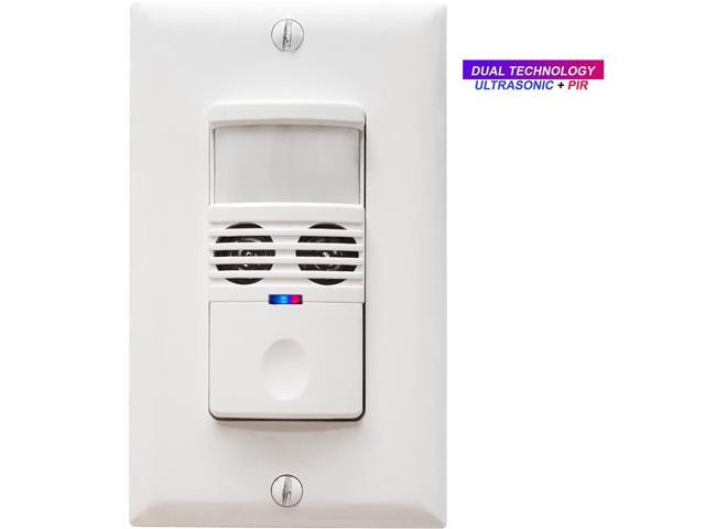 Dual tech motion sensor light switch pirultrasonic occupancy dual tech motion sensor light switch pirultrasonic occupancyvacancy light sensor switch aloadofball