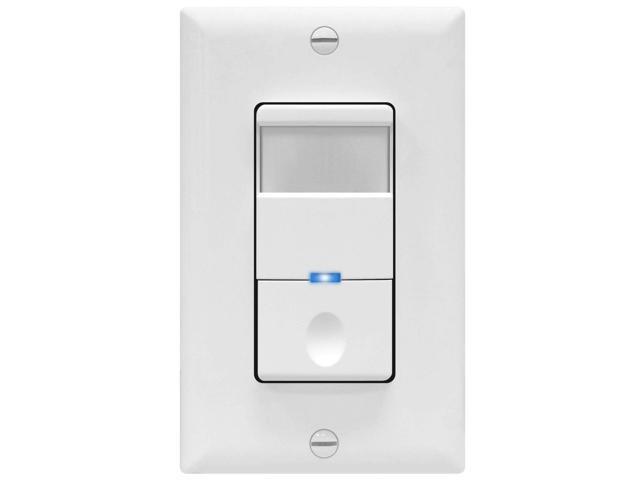 Topgreener Motion Sensor Switch 4a 500w No Neutral Required Single Pole Tdos5 J W White Newegg Com