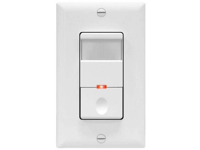Topgreener Motion Sensor Light Switch Pir Sensor Switch Occupancy Sensor Light Switch Motion Sensor Wall Switch 4a 500w 1 8hp Neutral Wire Required Single Pole Tdos5 White Electrical Industrial Wire Newegg Com