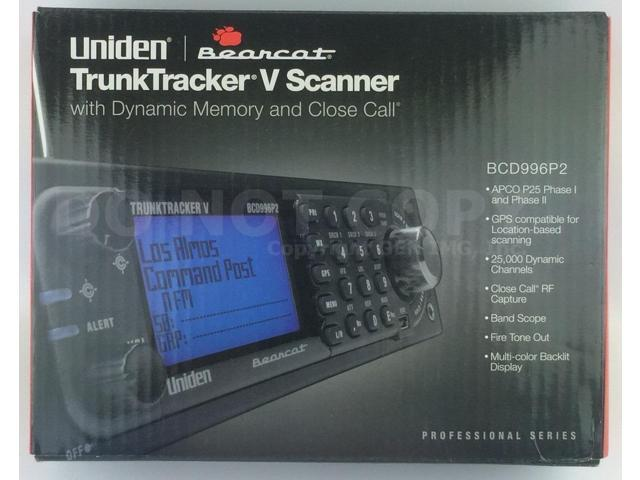 Uniden Bearcat BCD996P2 Digital Mobile Trunking Scanner with GPS  Compatibility - Newegg com