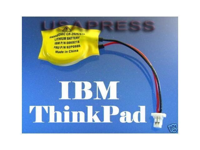 CMOS BATTERY For IBM ThinkPad Real Time Clock Battery (RTC) CMOS BIOS  BACKUP Replace IBM FRU # 02K6502 02K6486 - Newegg com