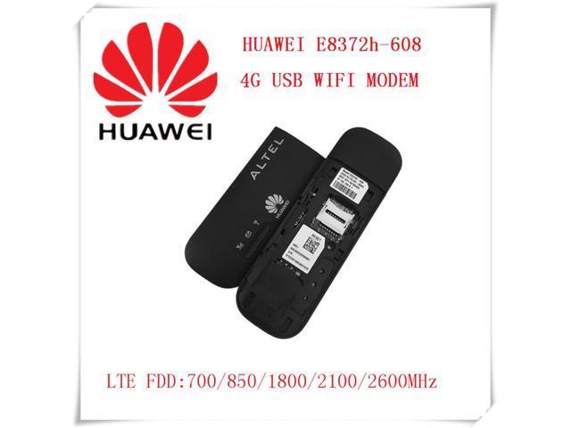 Unlocked E8372-608 150Mbps 4G LTE USB Wireless Modem WiFi Dongle -  Newegg com