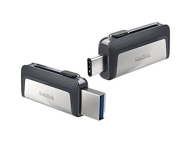 New SanDisk Ultra Dual Drive 64GB Type-C USB 3.1 Flash Memory