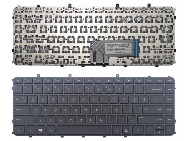 New For Ultrabook HP ENVY Sleekbook 4-1000 6-1000 Keyboard US with Frame