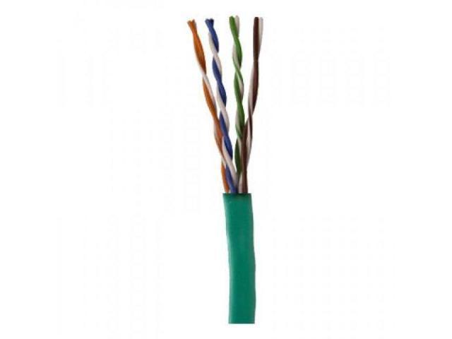 Bulk Cat5e Ethernet UTP Green Cable 1000ft