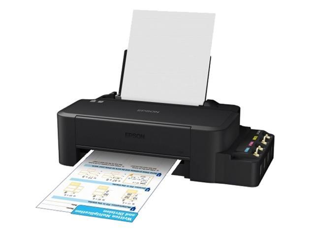 EPSON L120 Single-function Compact Size Printer Inkjet Color Ink Tank  System - Newegg com