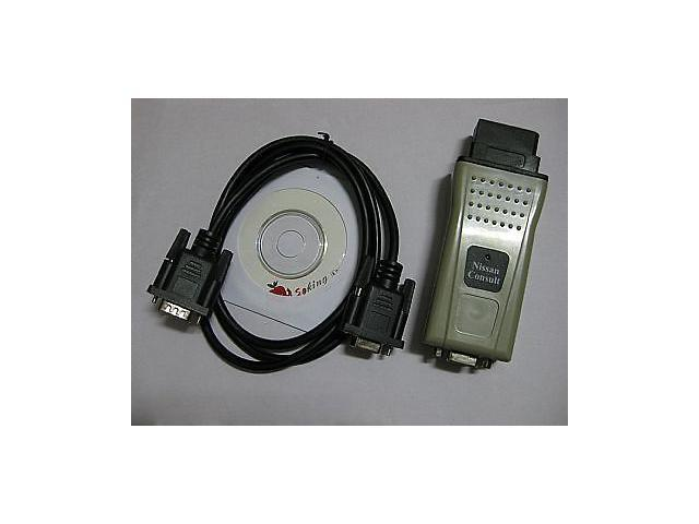 Nissan 14 Pin Consult Diagnostic OBD2 OBD II Interface Tool RS232 -  Newegg ca