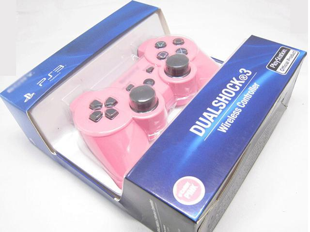 New Bluetooth Wireless Dual Shock 3 Six Axis Game Controller for Sony PS3  Pink - Newegg com