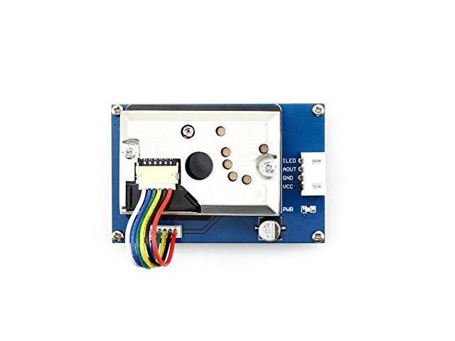 Arduino Dust Sensor Detector Module with Sharp GP2Y1010AU0F Onboard for  Measuring PM2 5 Air Purifier Air Conditioner Monitor - Newegg com