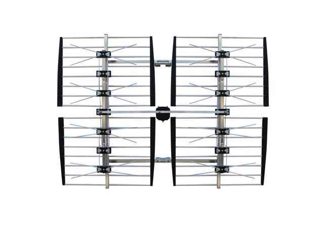 Focus Antennas Long-Range Outdoor HDTV Antenna 8-Bay 80+ mi