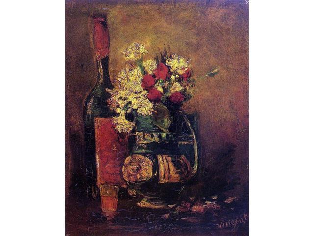 Vincent Van Gogh Vase With Carnations Gym Bag