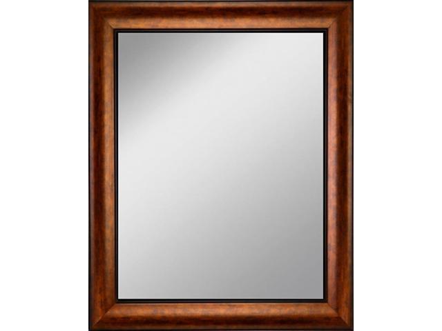 Framed Mirror 21 5 X 25 5 With Antique Bronze Finish Frame Newegg Com