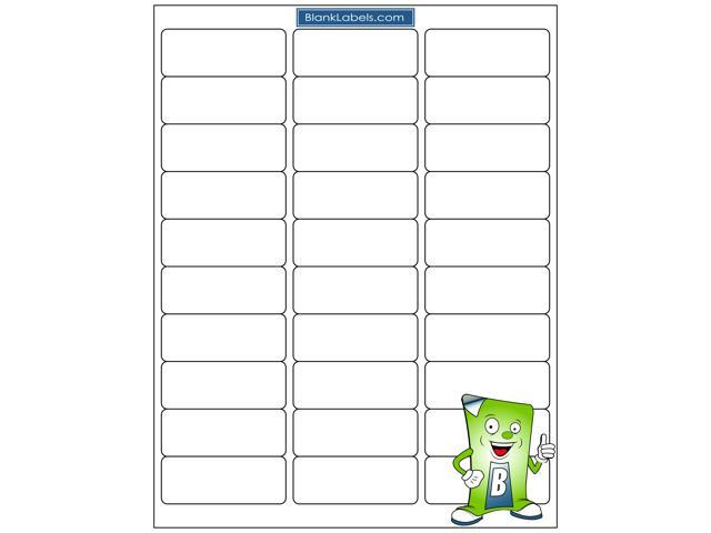 3000 Address Labels Compatible With Avery Template 5160 100 Sheets