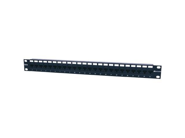 Intellinet Cat5e Utp 24-Port Patch Panel Intellinet Network Solutions Compatible With Both 110 And Krone Punch-Down Tools Product Category: Rack /& Cabling//Patch Panels 1U