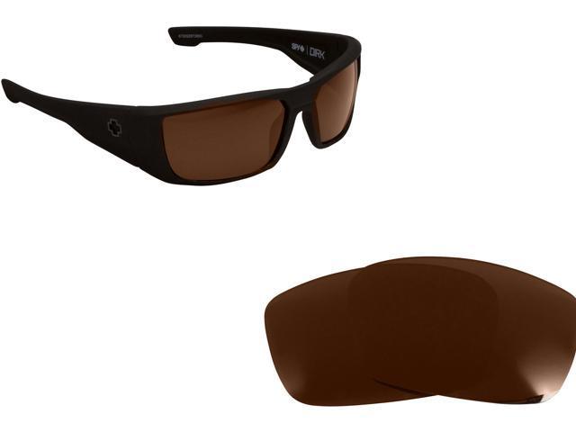 Polarized Replacement Lenses for SPY OPTICS Hielo Sunglasses Brown Anti-Scratch Anti-Glare UV400 by SeekOptics