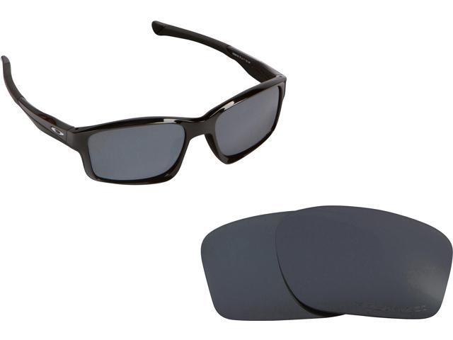 ce621e0558 Chainlink Asian Replacement Lenses Polarized Black Iridium by SEEK fits  OAKLEY