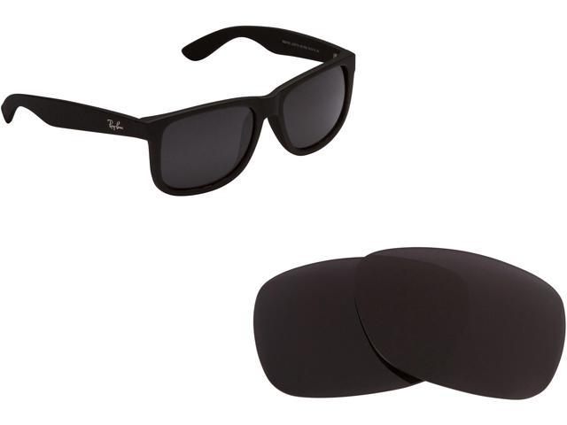 751e3ed1b5 Ray Ban Justin 4165 Replacement Lenses Polarized Black by SEEK fits RAY BAN