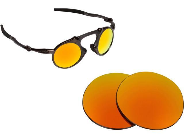 ca2812737f Madman Replacement Lenses Polarized Red Mirror by SEEK fits OAKLEY  Sunglasses