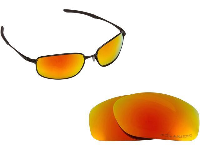1ac3a45d77 TAPER Replacement Lenses Polarized Red Mirror by SEEK fits OAKLEY Sunglasses