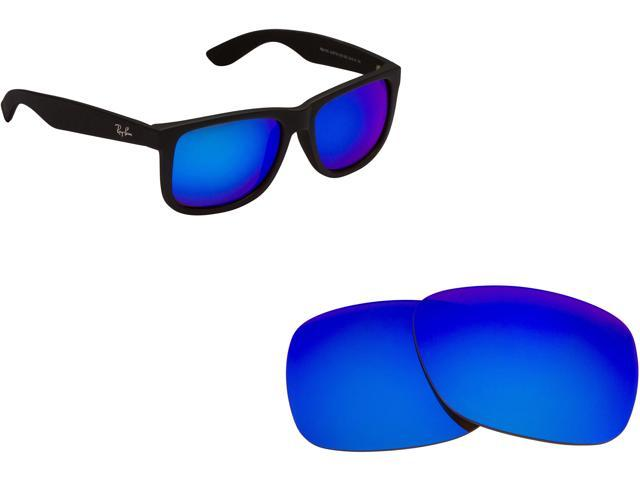fdc0ee8807 RB Justin 4165 Replacement Lenses Polarized Blue by SEEK fits RAY BAN  Sunglasses