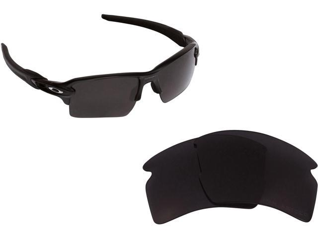 e113180442 FLAK 2.0 XL Replacement Lenses Polarized Black by SEEK fits OAKLEY  Sunglasses