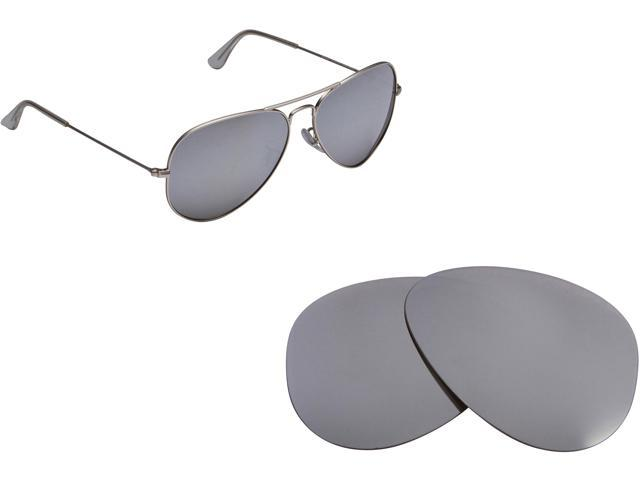 2f7e808ec0 RB 2132 52mm Replacement Lenses Polarized Silver by SEEK fits RAY BAN  Sunglasses