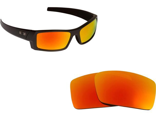 4f10bc2a63 Best SEEK Polarized Replacement Lenses Oakley GASCAN S Small Red Mirror