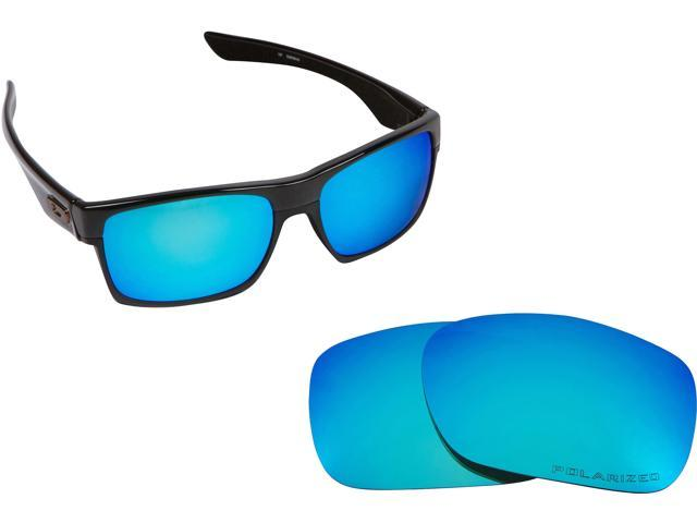 ecda8ad595 TWOFACE Replacement Lenses Polarized Blue Mirror by SEEK fits OAKLEY  Sunglasses