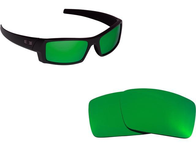 08b1227148 Best SEEK Polarized Replacement Lenses for Oakley GASCAN S Small Green  Mirror