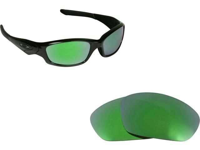 da9733a5cf Best SEEK Polarized Replacement Lenses for Oakley STRAIGHT JACKET Green  Mirror