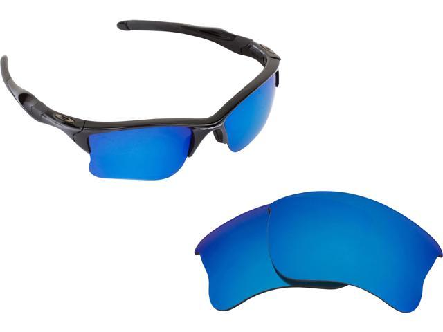 04b6af25b6 Best SEEK Replacement Lenses for Oakley HALF JACKET 2.0 XL Blue Mirror
