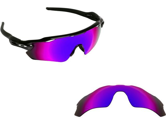aced5361e4 Best SEEK Polarized Replacement Lenses for Oakley RADAR EV PATH Purple  Mirror