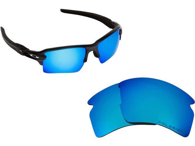 8f2432e9ba FLAK 2.0 XL Replacement Lenses Polarized Blue by SEEK fits OAKLEY Sunglasses