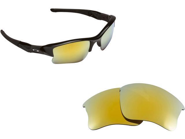 5d68cf2a7e6 Flak Jacket XLJ Replacement Lenses Polarized Gold by SEEK fits OAKLEY  Sunglasses