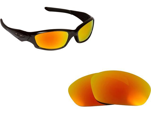 be1e26223ee Best SEEK Replacement Lenses for Oakley STRAIGHT JACKET Yellow Mirror