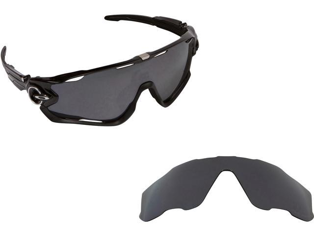 c1df9420eb Best SEEK Polarized Replacement Lenses Oakley JAWBREAKER Asian Fit Black  Iridium