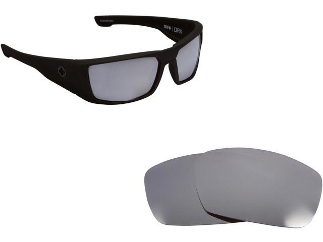 bfa7f6f311f Best SEEK Polarized Replacement Lenses for Spy Optics DIRK Silver Mirror
