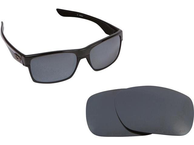 2997530a59 TWOFACE Replacement Lenses Polarized Black Iridium by SEEK fits OAKLEY