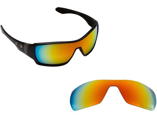 5c06b545bc Best SEEK Polarized Replacement Lenses for Oakley OFFSHOOT Red Mirror