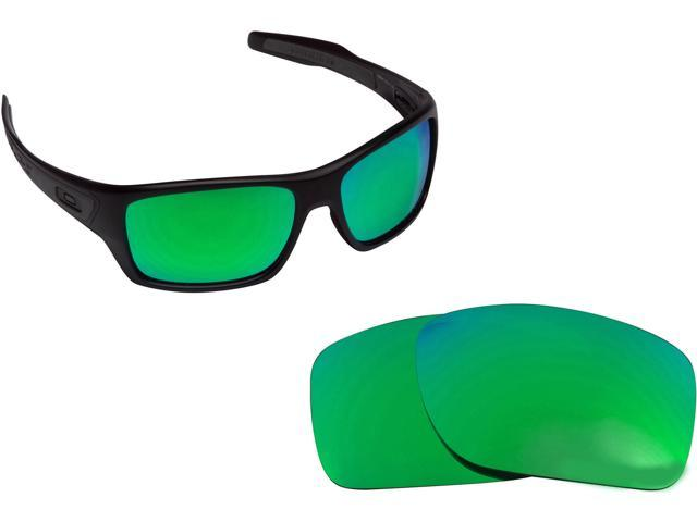 e3181187a0 TURBINE Replacement Lenses Polarized Green Mirror by SEEK fits OAKLEY  Sunglasses