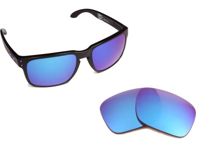 a942a58c6c HOLBROOK Replacement Lenses Polarized Blue Mirror by SEEK fits OAKLEY  Sunglasses