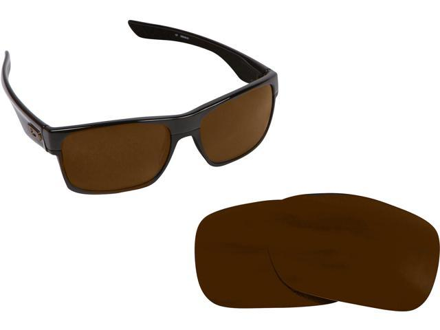 af0d72bff4 TWOFACE Replacement Lenses Polarized Bronze Brown by SEEK fits OAKLEY  Sunglasses